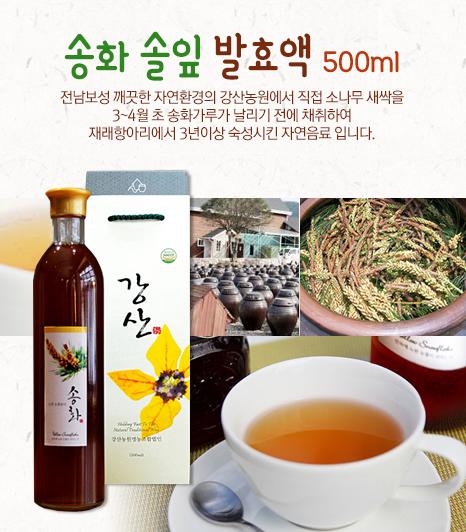 송화솔잎 발효액 500ml