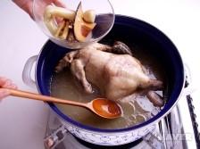 전복삼계탕 요리과정