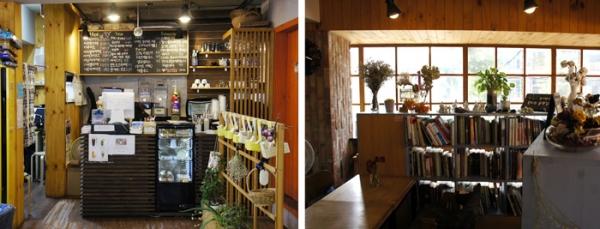 여느 카페처럼 다양한 음료도 먹을 수 있고 책과 보드게임도 즐길 수 있다.